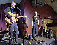 Diane Cluck & Wes Swing, The Tin Coventry, 12/04/19